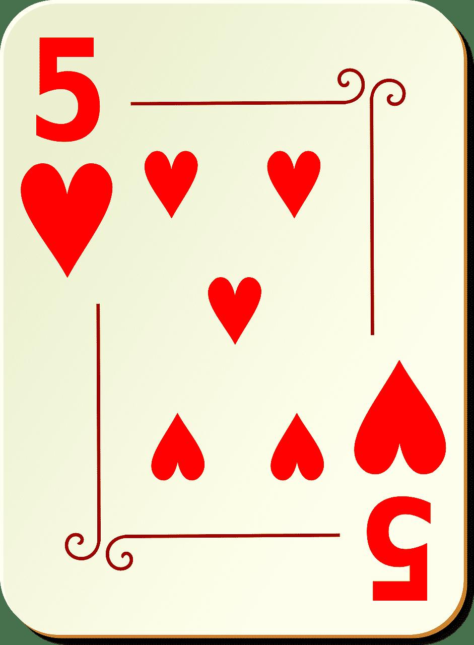 Et talkort der viser værdien af kortet i reglerne af spillet